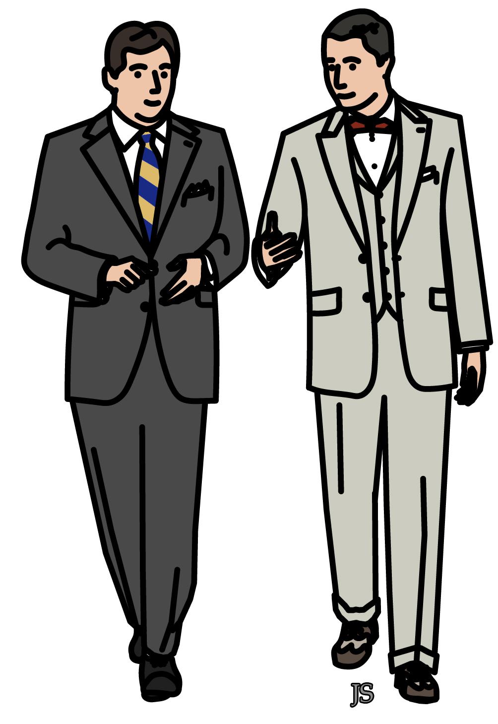 Costumes page 2 stiff collar - Dessin costume ...