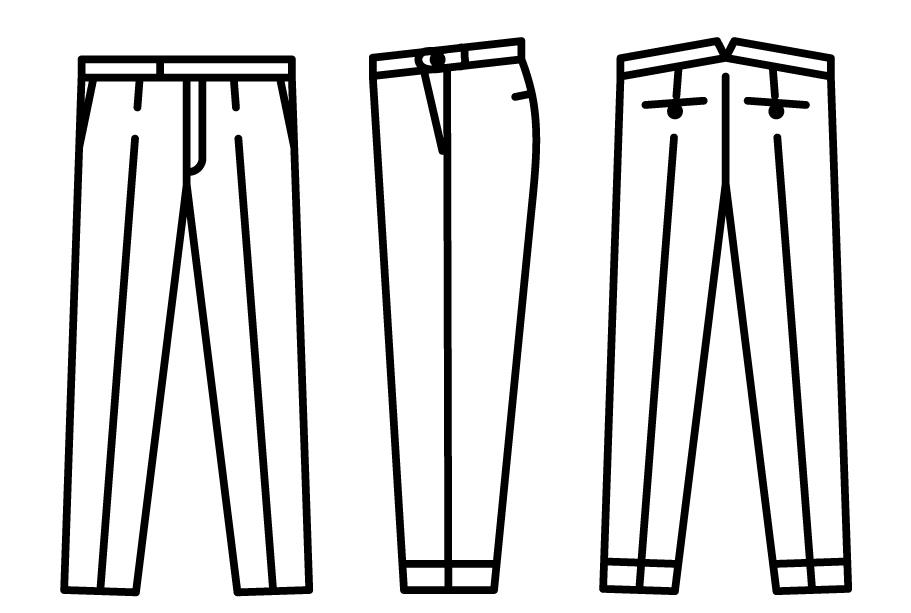 comment coudre la braguette d 39 un pantalon. Black Bedroom Furniture Sets. Home Design Ideas