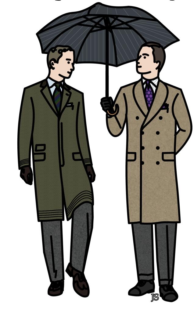 Manteaux page 2 stiff collar - Dessin de manteau ...