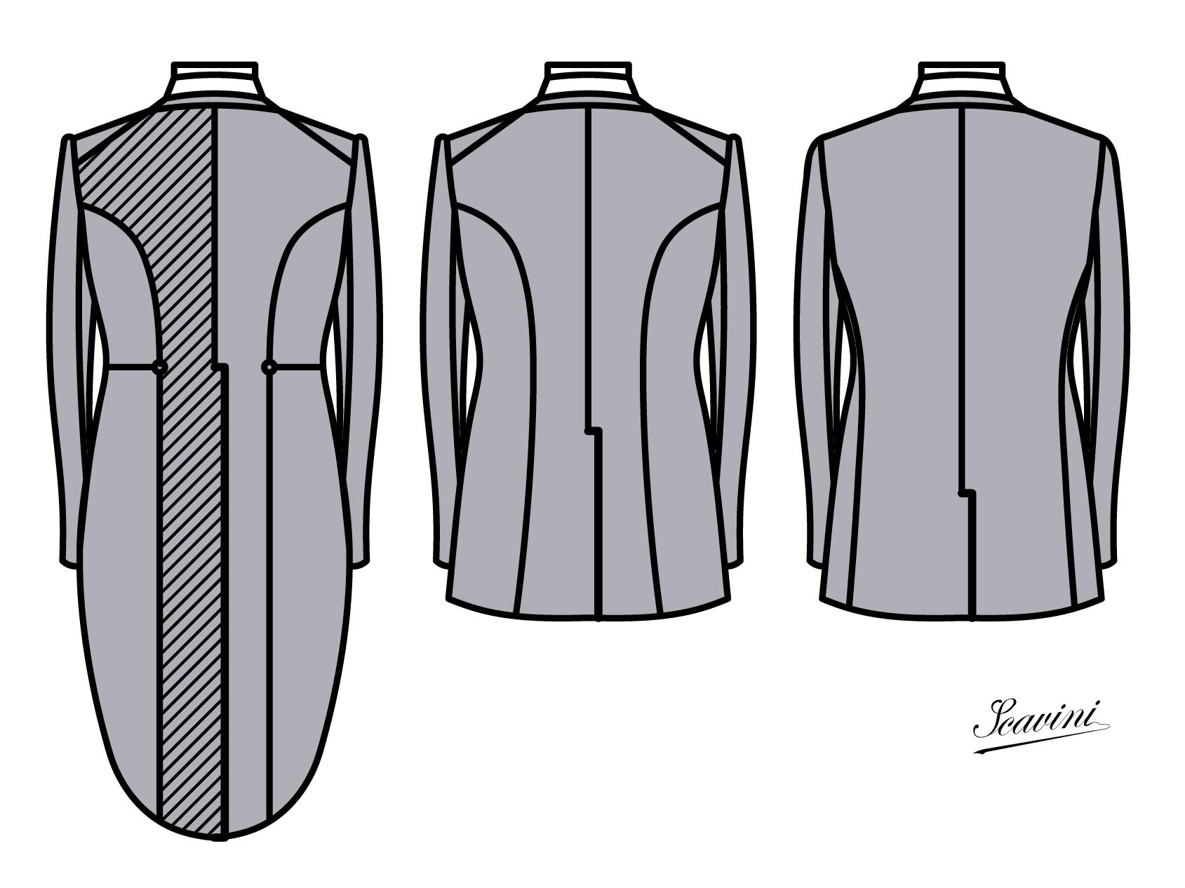comment coudre une veste queue de pie