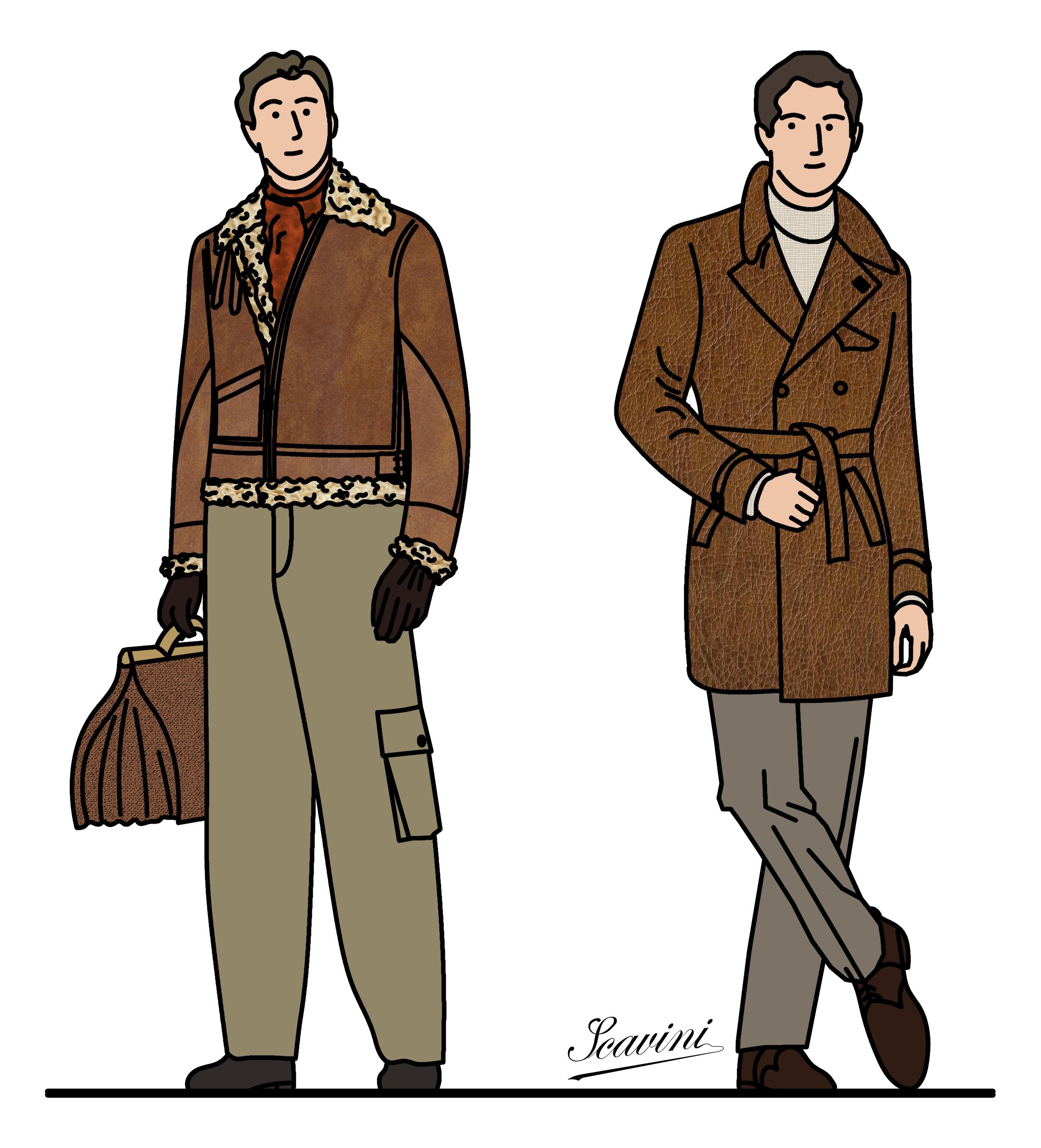 Histoires stiff collar page 2 - Dessin de manteau ...