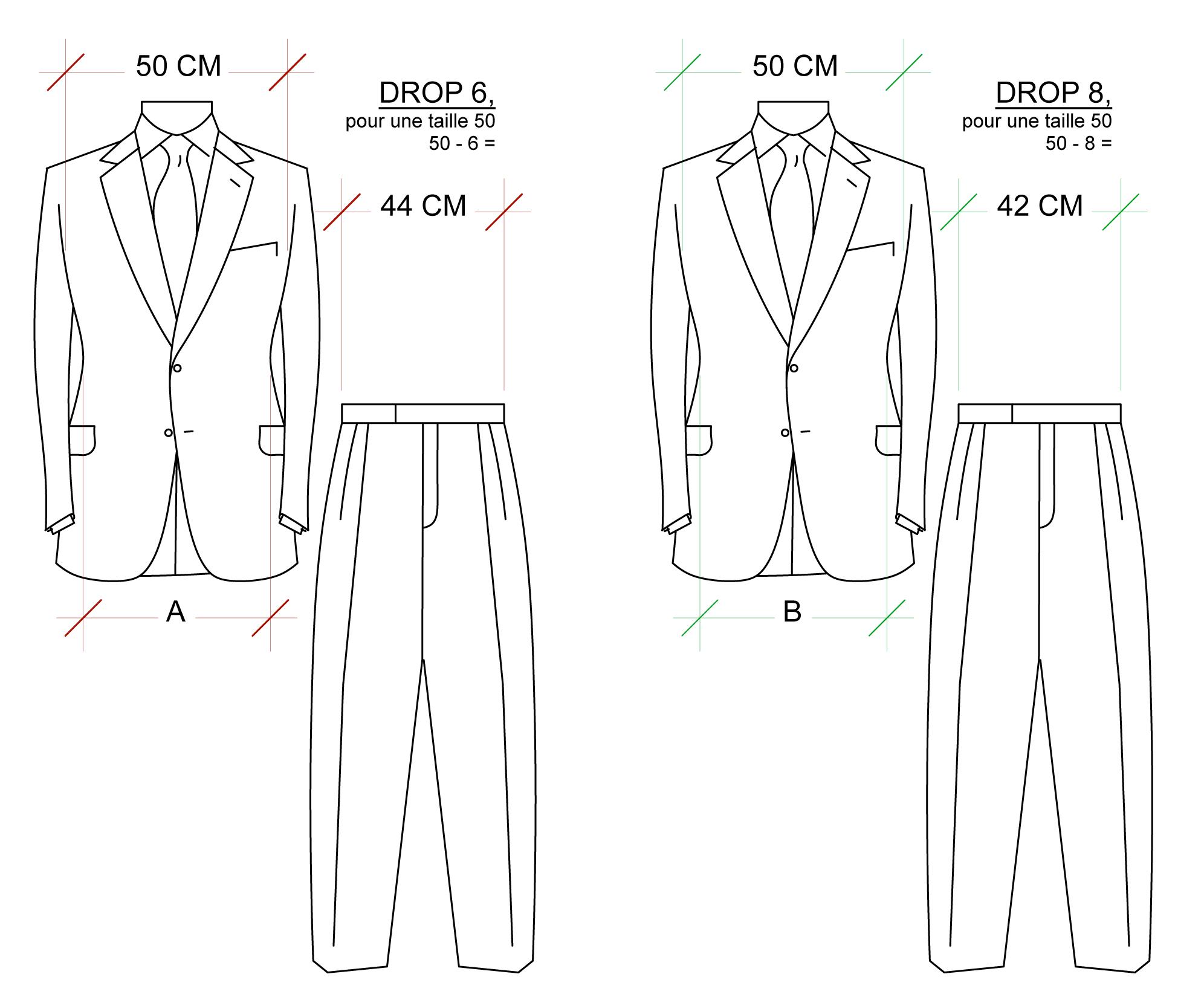 Veste en cuir hommes de grande taille