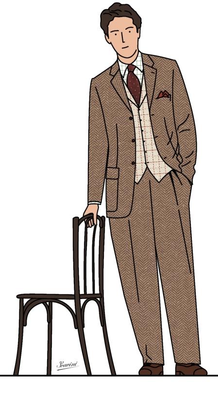 costume de tweed