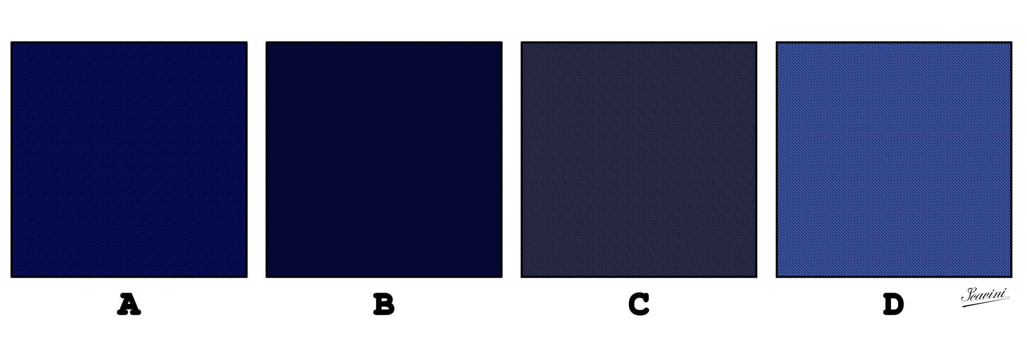 Folie bleue stiff collar - La couleur bleue ou bleu ...