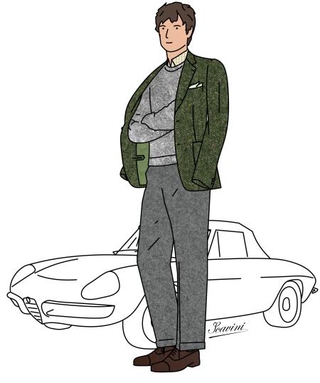 pantalon de flanelle