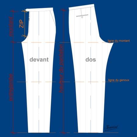 coupe pantalon