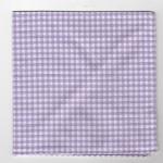 Oxford de coton, roulotté main, 30x30