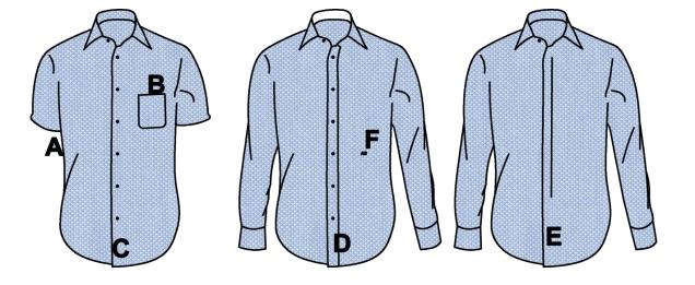 chemise détails 1