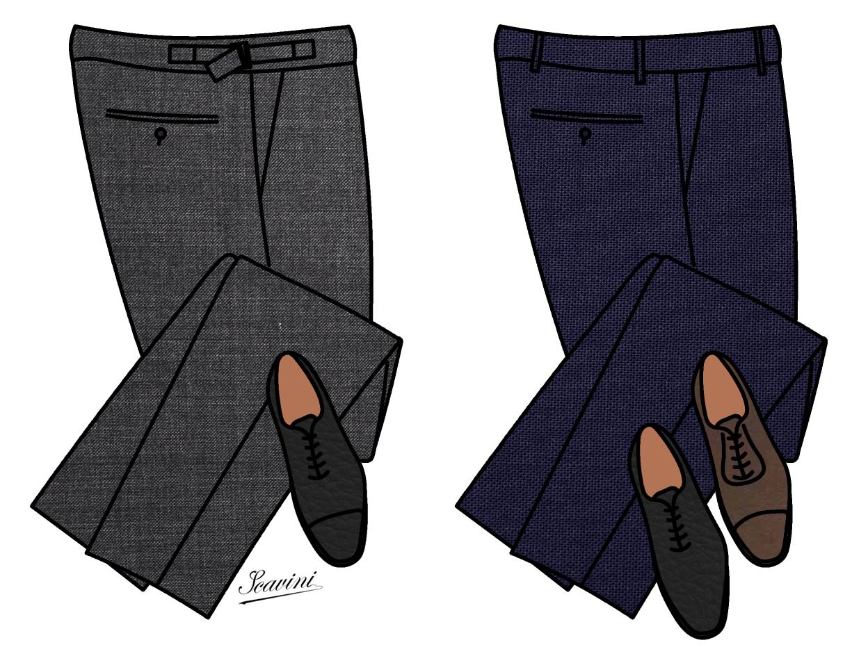 la couleur des pantalons et des souliers stiff collar. Black Bedroom Furniture Sets. Home Design Ideas