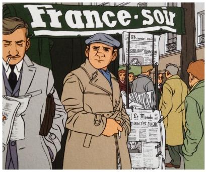 Manteau à cran parisien et trench-coat ceinturé !