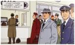 Chapeaux et manteaux impeccables! L'hippocampe d'Air France pour ne rien gâcher.