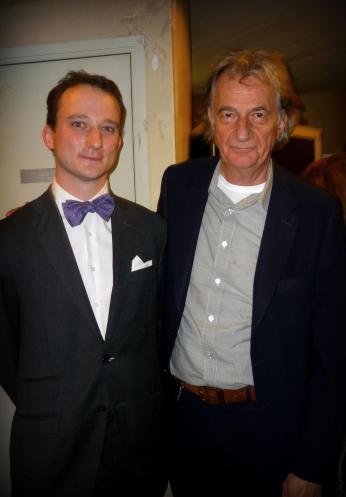 Le costume en flanelle Loro Piana avec Monsieur Paul Smith.