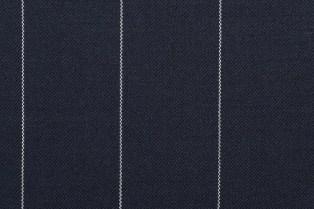Rayure craie à deux fils dans un tissu sec