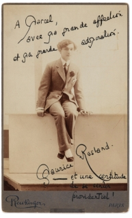 1910 Maurice Rostand