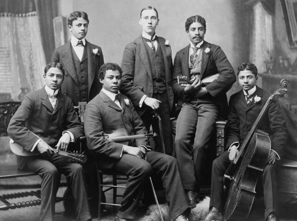 stiff collar groupe d americains 1890