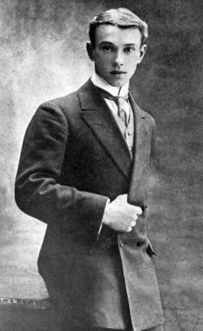 stiff collar VASLAV NIJINSKI (1889-1950) 1