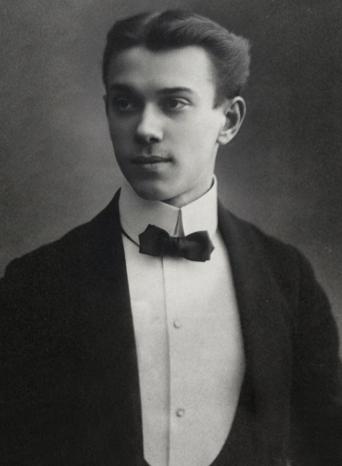 stiff collar VASLAV NIJINSKI (1889-1950) 2