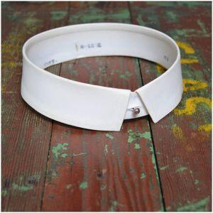 stiff collar