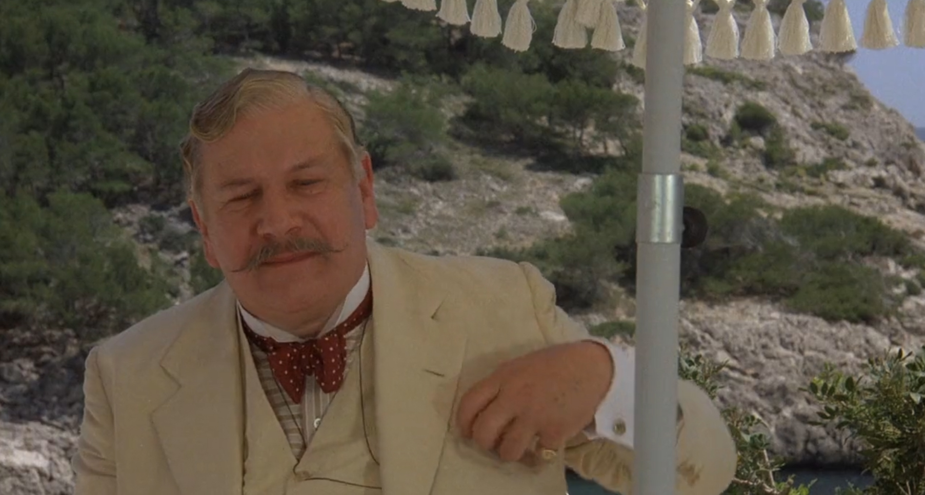 Peter Ustinov as Hercule Poirot 7