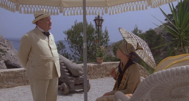 Peter Ustinov as Hercule Poirot 9